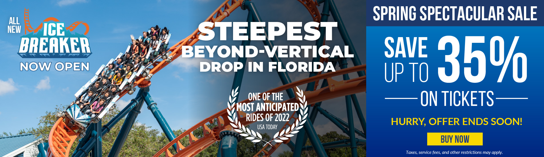 SeaWorld Orlando Spring Spectacular Sale Save up to 35% on Tickets