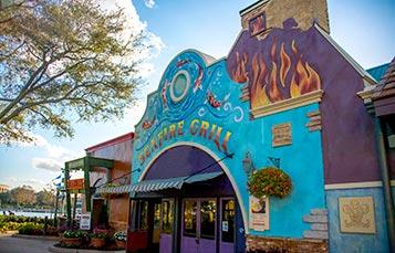 SeaWorld Orlando SeaFire Grill