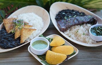 SeaWorld Orlando Waterway Grill Food Options