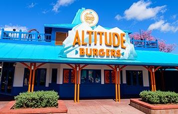Altitude Burgers Dining at SeaWorld Orlando