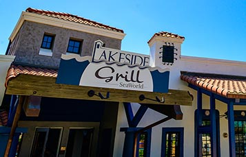 Lakeside Grill restaurant at SeaWorld Orlando