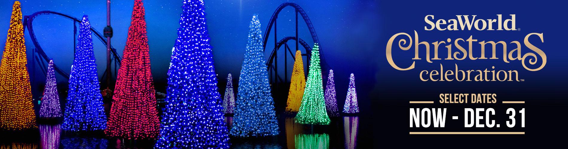 Christmas Celebration at SeaWorld Orlando