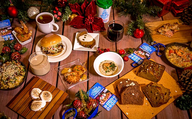 Food and drink samples available during SeaWorld Christmas Celebration