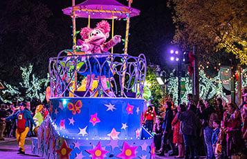 Sesame Street Christmas Parade