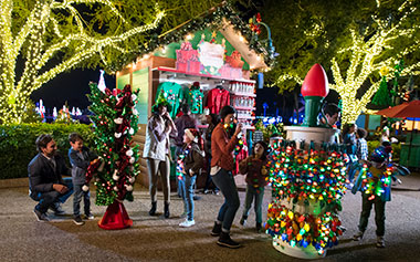 Christmas Market at SeaWorld Orlando