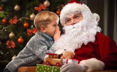 Dinner with Santa at SeaWorld's Christmas Celebration