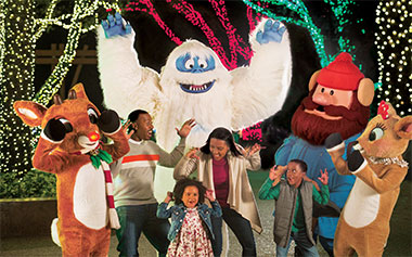 Meet Rudolph and friends at SeaWorld's Christmas Celebration