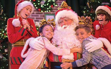 Meet Santa Claus at SeaWorld Christmas Celebration