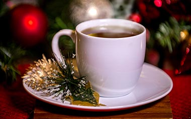 Winter Wonderland Hot Toddy available during SeaWorld Christmas Celebration