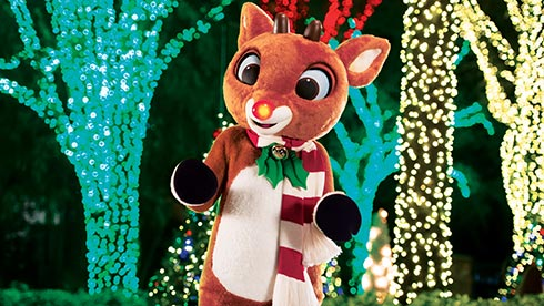 Meet Rudolph the Red-Nosed Reindeer at SeaWorld Orlando