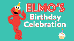 Elmo's Birthday Celebration at SeaWorld Orlando