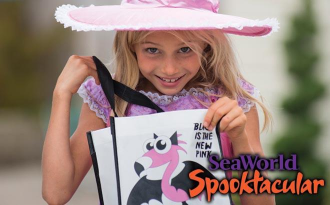 Trick-or-Treating at SeaWorld Orlando Halloween Spooktacular