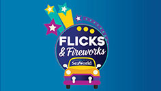 Flicks and Fireworks event at SeaWorld Orlando