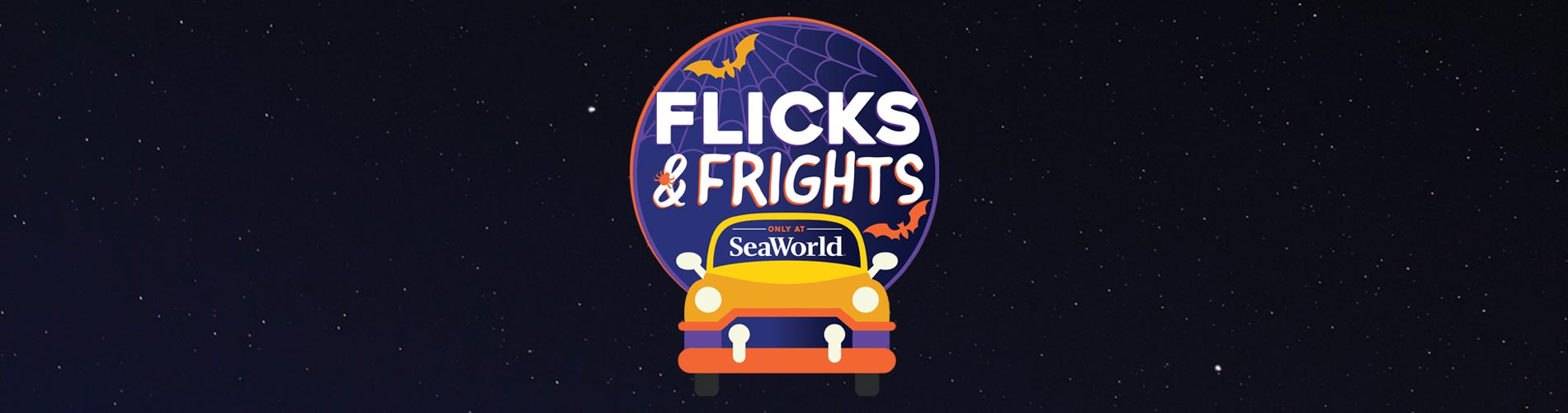 SeaWorld Orlando Flicks and Frights Drive-In Movie Event