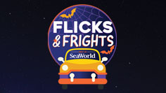 Flicks & Frights Halloween Drive-in Movie Event at SeaWorld Orlando