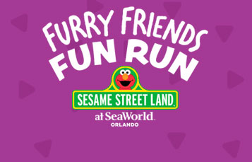 Furry Friends Fun Run - Sesame Street Land at SeaWorld Orlando