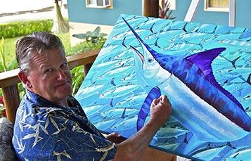 See Guy Harvey at SeaWorld