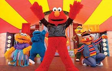 Elmo Rocks at Just For Kids Weekends