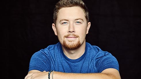 Scotty McCreery at SeaWorld Orlando Seven Seas Food Festival