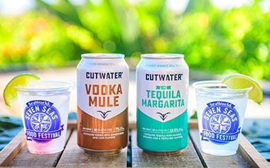 Cutwater Spirits available during Seven Seas Food Festival SeaWorld Orlando