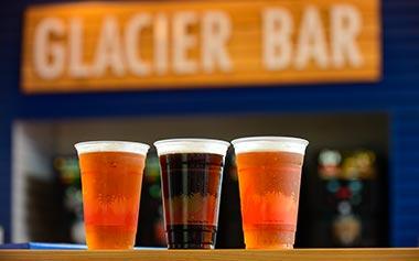 Beers at Glacier Bar SeaWorld Orlando
