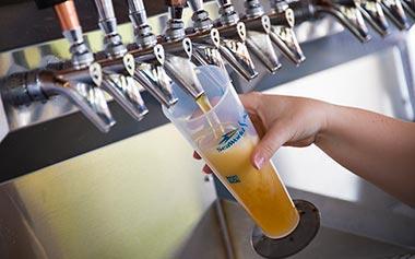 Waterway Bar Beer Pour