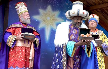 Tale of the Three Kings during Three Kings Celebration at SeaWorld Orlando