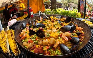 Delicious food availble during Viva La Musica at SeaWorld Orlando