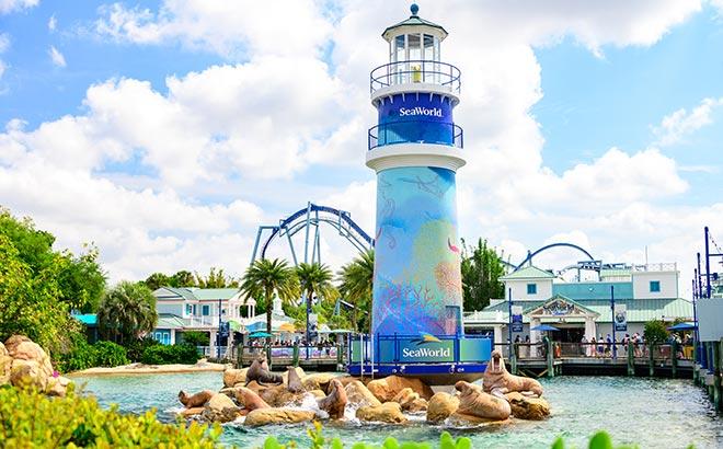 SeaWorld Orlando Lighthouse Entrance