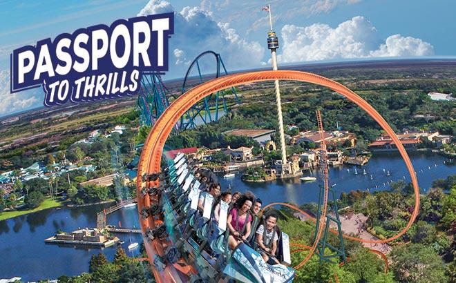 SeaWorld Orlando Passport to Thrills