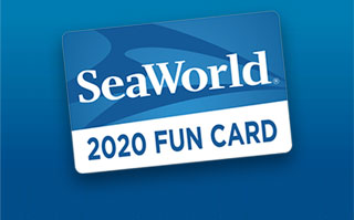 SeaWorld Orlando 2020 Fun Card