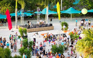 SeaWorld Group Events Aquatica Venue