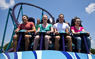 Ride Mako, Orlando's tallest, fastest and longest coaster.