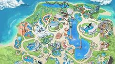 SeaWorld Orlando Park Map