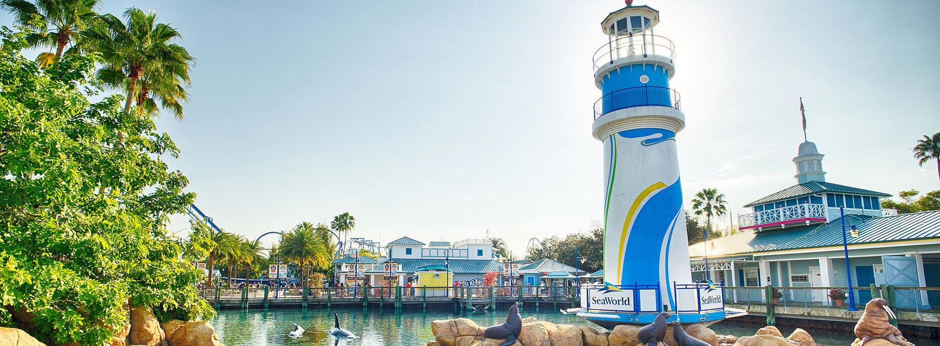 SeaWorld Orlando Front Entrance