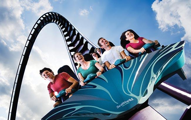 Ride Mako, Orlando's tallest, fastest and longest roller coaster at SeaWorld Orlando