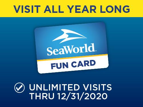 SeaWorld Orlando Fun Card