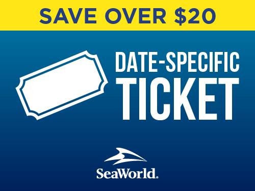 SeaWorld Orlando Date Specific Ticket