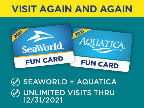 Aquatica + SeaWorld Fun Card