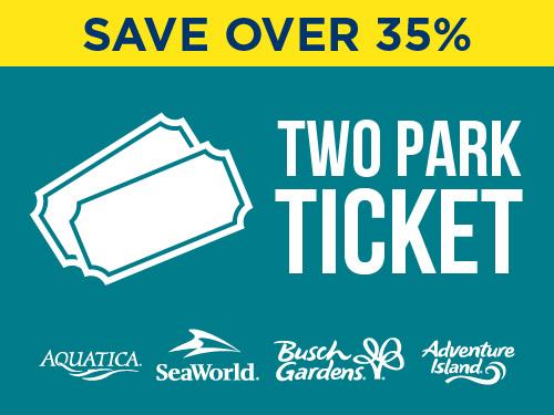 SeaWorld Aquatica Two Park Ticket