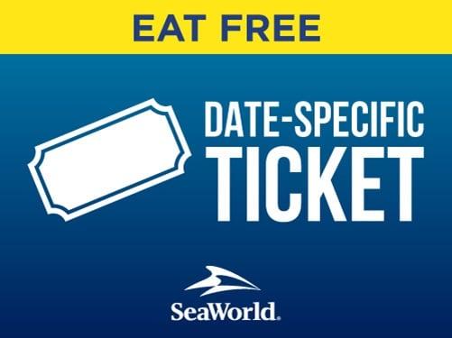 SeaWorld Orlando Eat Free
