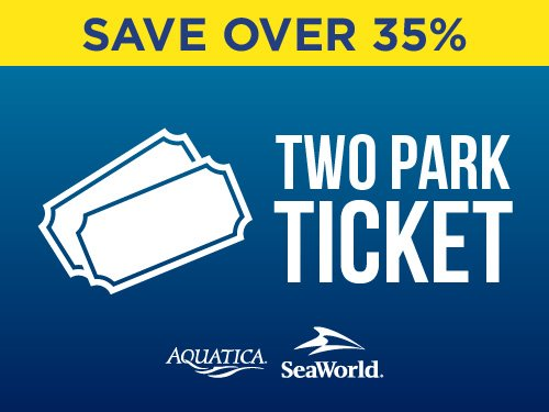 SeaWorld & Aquatica 2-Park Ticket