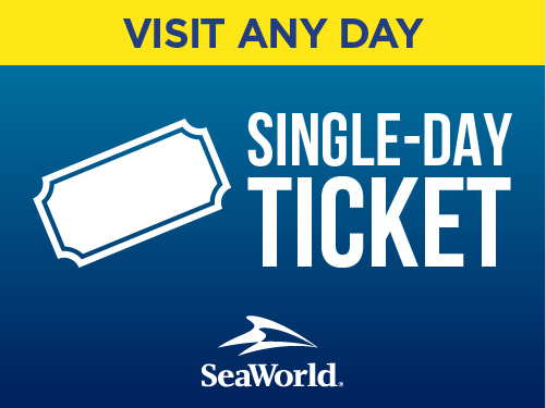 SeaWorld Orlando Any Day Ticket