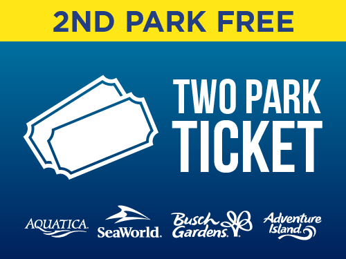 SeaWorld Orlando Two Park Ticket