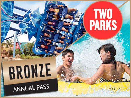 SeaWorld and Aquatica Bronze Annual Pass