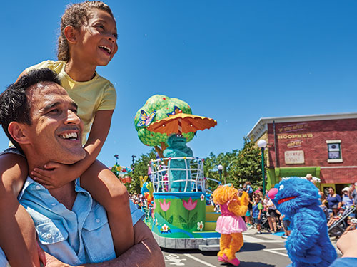 Sesame Street Land Family VIP Pass