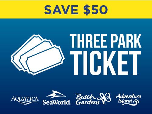3-Park Ticket