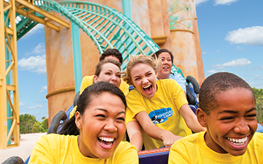 Thrill Seekers Camp at SeaWorld Orlando