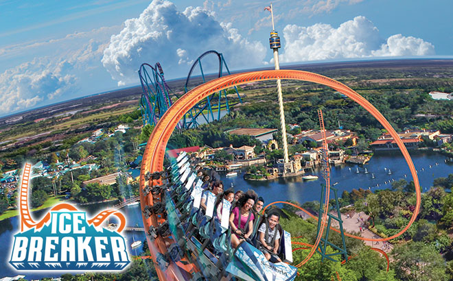 Ice Breaker launching soon at SeaWorld Orlando