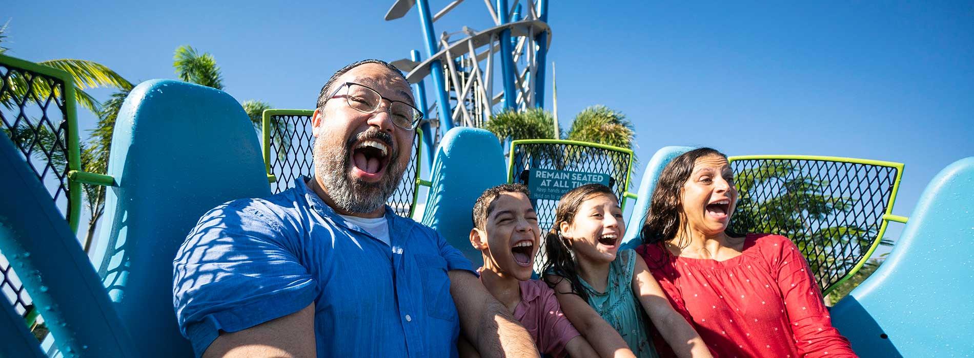 Experience Infinity Falls at SeaWorld Orlando